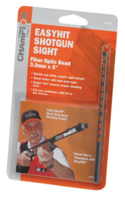 Champion EasyHit Fiber Optic Shotgun Sights Red 3.0mm - 5 Inches