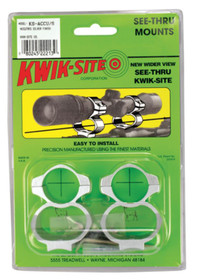 Kwik-Site See-Thru Mounts Savage AccuTrigger Satin