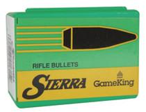 Sierra GameKing .25 Caliber .257 117gr, Spitzer Boat Tail, 100/Box