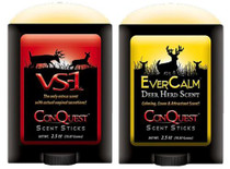 Conquest Scents Hunters Pack EverCalm/VS-1 Scent Sticks 2.5 oz