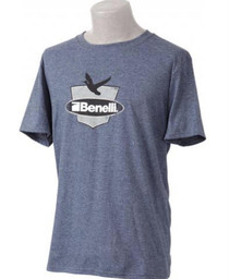 Benelli Duck Badge T-Shirt, Navy, XL