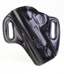 Kimber Concealable holster (left hand) for Pro-size (4-inch) 1911 models black leather Kimber logo by Galco