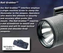 Insight M6X With 'Rail Grabber' Interface for Pistols