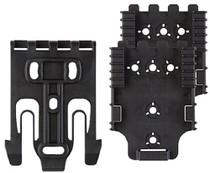 Safariland QLS Kit 1 Fork/2 Plates Nylon Black