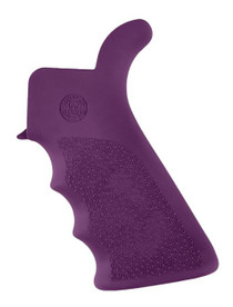 Hogue AR-15 Pistol Grip, Finger Grooves AR-15/M16/M4 Textured Rubber