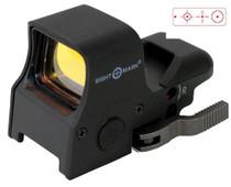 Sightmark UltraShot QD Switch 1x34mm Obj, Unlimited Eye Relief, 1 MOA, Black