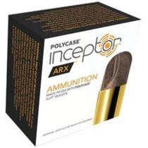 Polycase Inceptor ARX Self Defense Ammunition, .40 S&W, 107 Gr, 20 Rd Box