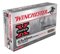 Winchester Super X 6.5mmX55mm Soft Point 140gr, 20Box/10Case