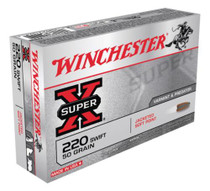 Winchester Super X 220 Swift Pointed Soft Point 50gr, 20Box/10Case