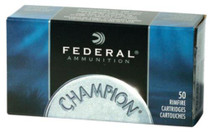 Federal Champion 22 Win Mag 40gr, Full Metal Jacket, 50rd/Box, 60 Boxes/Case