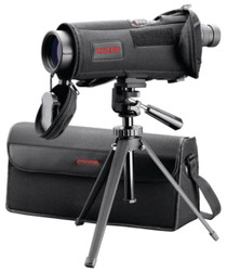 Redfield Rampage Spotting Scope Kit 20-60x80mm Waterproof With Tripod and View-Thru Case Black
