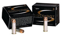 Speer Gold Dot .40 SW 180 Gr, Hollow Point For Short Barrels, 20rd Box, 25 Box/Case