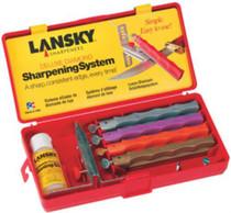 Lansky Stnd Sharpening System Diamond Hones XC,C,M,F Plastic