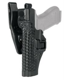 Blackhawk Level 3 SERPA S&Wesson M&P 9mm/40, Auto Loc,k Duty Basket Weave Black, Left Hand