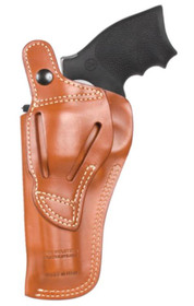 Blackhawk Leather Multi-Position Holster Brown Right Hand For Smith and Wesson N-Frame Full Lug Six Inch