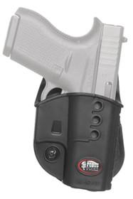 Fobus Paddle Holster For Glock 43, RH, Black