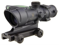 Trijicon ACOG 4x32 Scope Dual Illuminated Green Crosshair .223 BAC Reticle With TA51 Mount Cerakote Gray