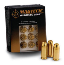 Magtech Guardian Gold .40 SW 155gr, Jacketed Hollow Point, 20rd/Box