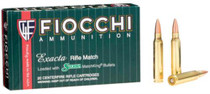Fiocchi Exacta Rifle Match .223 Rem 69gr, Sierra Match King, 20rd/Box