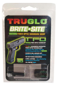 Truglo Tritium Fiber Optic Sight Sig #8 Front/#8 Rear