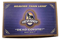 "HEVI-Shot Dead Coyote 12 Ga, 3"", 1-1/2oz, 4 Buck Shot, 10rd/Box"