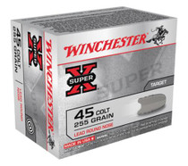 Winchester Super X 45 Colt Lead Round Nose 255 Grain 20 Rd Box