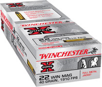 Winchester Super X 22 Win Mag FMJ 40gr, 50Box