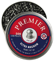 Crosman Premier Pellets Heavy Pellets .177 500 Count Silver