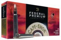 Federal Cape-Shok 375 H&H Magnum Nosler Partition 300gr, 20Box/10Case