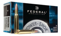 Federal Power-Shok 30-06 Springfield Soft Point 125gr, 20Box/10Case
