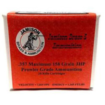 Jamison .357 Maximum, 158 Gr, JHP, 20rd/Box