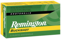 Remington 12ga 4 Buck 5Bx/50Cs 2.75 27 Pellets Buckshot Express
