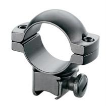 """Tasco Aluminum Rings For .22 Air Guns 1"""" Matte Black"""