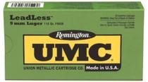 Remington UMC 45 ACP Flat Nose Enclosed Base 230gr, 50Box/10Case