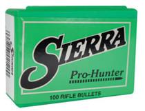 Sierra Pro-Hunter .30 Caliber .308 125gr, Hollow Point Flat Nose, 100/Box