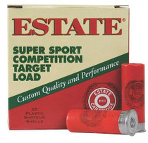 "Estate Super Sport Target 12 Ga, 2 3/4"", 1-1/8oz, 8 Shot, 25rd/Box"