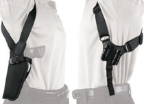 "Blackhawk Vertical Shoulder Holster Black Left Hand For 9.5-10.5"" Barrel Single and Double Action Revolvers"