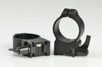 Warne Ruger 30mm Ruger M77, QD, High Matte Rings, Fits M77 & Hawkeye Grooved Receiver