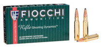 Fiocchi Shooting Dynamics .308 Win 150gr, Pointed, Soft Point, 20rd/Box