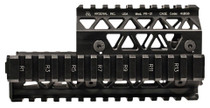 Arsenal Picatinny Quad Rail Handguard Sys AK-47/74 Alum Black
