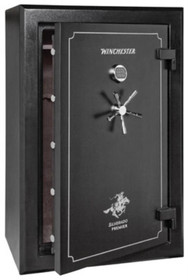 Winchester Safes Silverado 38 Gun Safe Black (Freight approximate, actual may vary)