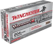 Winchester Super-X 204 Ruger Varmint 32 gr, 20rd Box