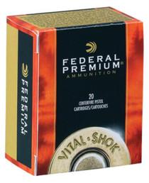 Federal Vital-Shok .44 Remington Magnum 225gr, Barnes Expander, 20rd Box