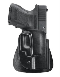 Uncle Mike's Kydex Paddle Open Top 26 Black Kydex