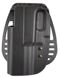 Uncle Mike's Kydex Paddle Holsters Size 25 Glock 20/21 Black Left Hand