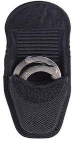 """Bianchi 7317 DBL Cuff Case Fits Belt Width 2"""" & 2.25"""" Black Accumold"""