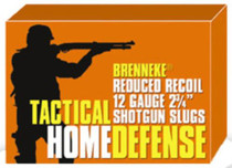 "Brenneke Tactical Home Defense 12 Ga Rifled Lead Slug, 2.75"", 1oz, Slug, 5rd/Box"