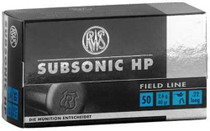 Walther RWS 22LR Subsonic 40gr, 50rd/Box