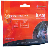 Adventure Medical Kits SOL Fire Lite Kit, 20 Pieces
