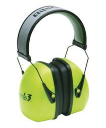 Howard Leight Leightning L3 Hi-Visibility Earmuff Bright Green